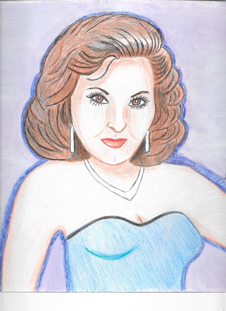 Ava Gardner by Jeanette